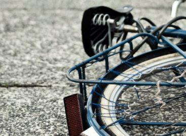 Водитель сбил велосипедистку-сальчанку, не заметив её на дороге