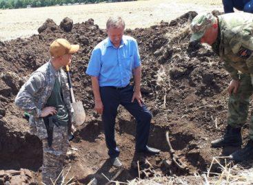 На Дону обнаружены останки воинов Великой Отечественной