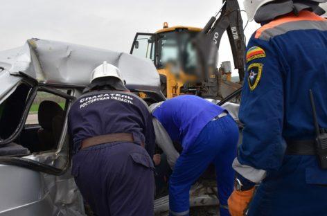 За текущий год сотрудники донской поисково-спасательной службы ликвидировали последствия 132 дорожно-транспортных происшествий