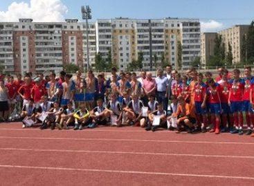 Завершился финал областных соревнований по футболу «Кожаный мяч»