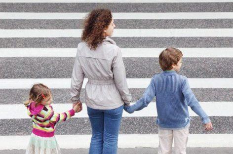Учите детей правилам дорожного движения!