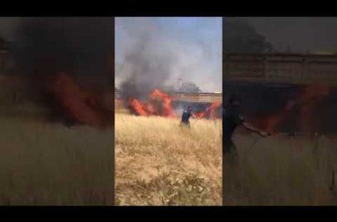 Межведомственная группа вступила в борьбу с огнём