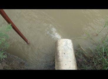 Какую воду сливает сальский молзавод в Сандате в реку Большой Егорлык?