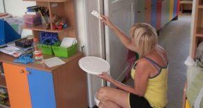 В детских садах Сальска идет ремонт: на очереди — «Жемчужинка»