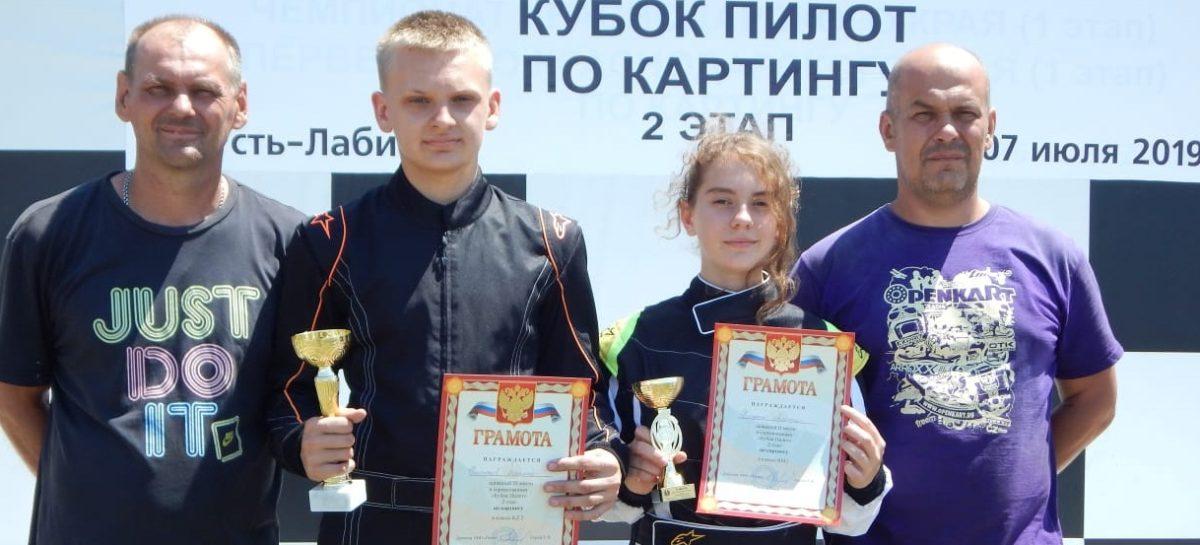 Любители скорости из Сальска завоевали медали в Усть-Лабинске