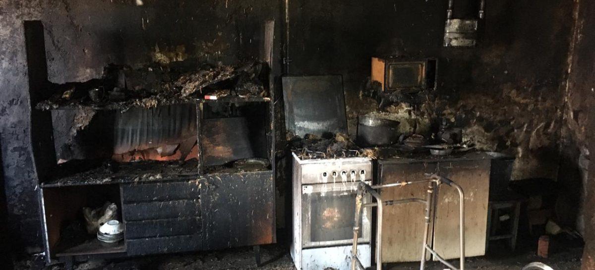 В Новом Егорлыке в дыму пожара задохнулся 70-летний мужчина