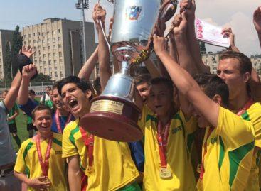Юные сальчане стали чемпионами областного кубка по футболу