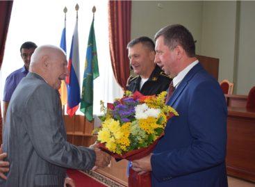 Сальскому ветерану Великой Отечественной войны вручили орден «За верность долгу»