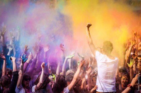 Сальчан приглашают на фестиваль красок и мыльных пузырей
