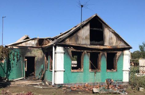 В Кручёной Балке на пожаре погиб мужчина