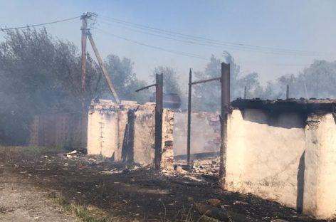 Пожар в Романовке тушили всем селом