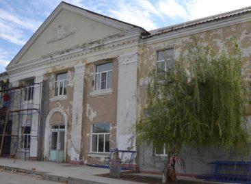 Кровля больше не течет! В Новом Егорлыке идет капитальный ремонт сельского дома культуры