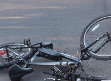 В Сальском районе с начала года сбили пять велосипедистов
