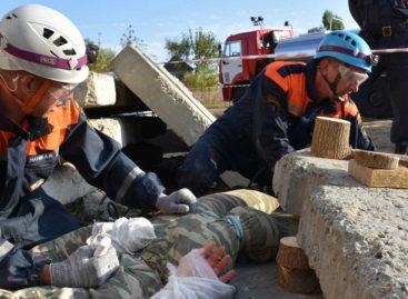 Спасатели соревновались за кубок губернатора