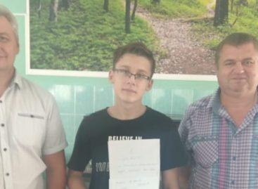 Сальский шахматист привез награду из Анапы