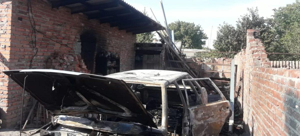 В Гиганте в огне и дыму погибли три коровы