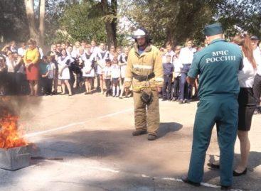 Школьники Сальска и Сальского района знают, как эвакуироваться в случае пожара