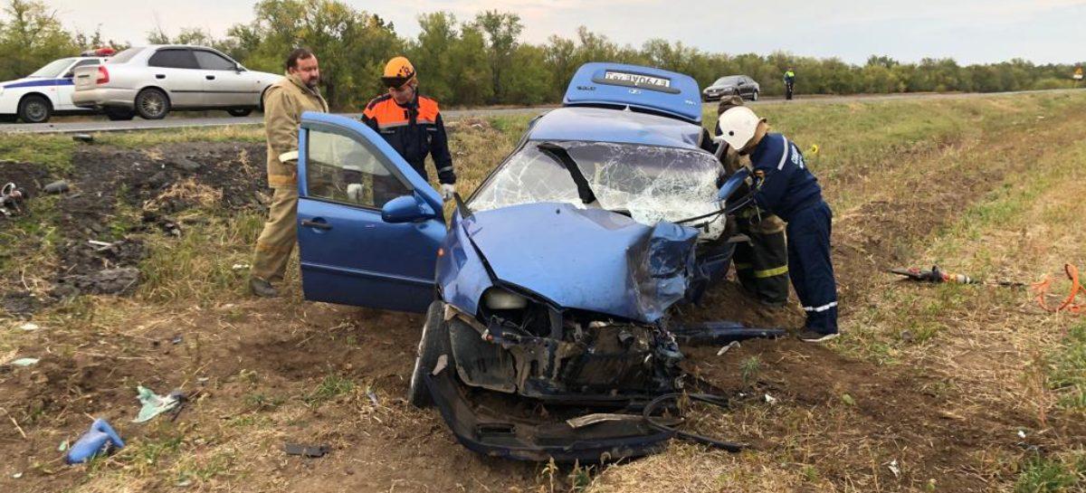 Смертельная авария произошла у Манычстроя