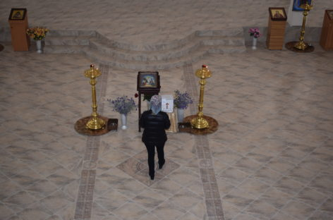 Как продвигаются работы в соборе святых равноапостольных Кирилла и Мефодия?