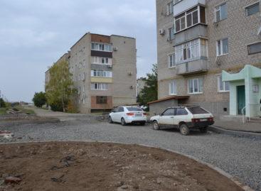 На улице Родниковой идёт большое благоустройство
