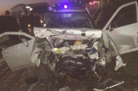 В лобовом столкновении двух легковых автомобилей погибли четыре человека
