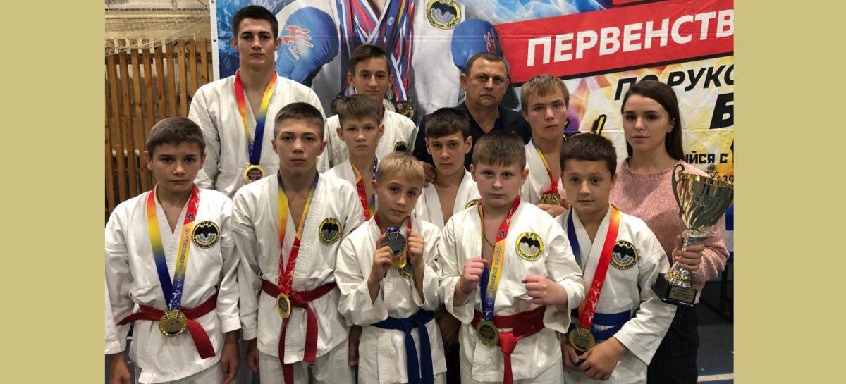 Восемь наград из Ростова привезли спортсмены клуба «Боец»