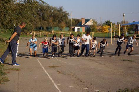 «Донской марафон» на Среднем Егорлыке: юные сальчане приняли участие в областной спортивной акции