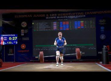 Сальская тяжелоатлетка Дарья Рязанова завоевала три «золота» первенства Европы