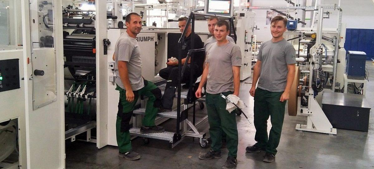 Рабочие места нашли 23 сальчанина: «Сегежская упаковка» запустит третью производственную линию