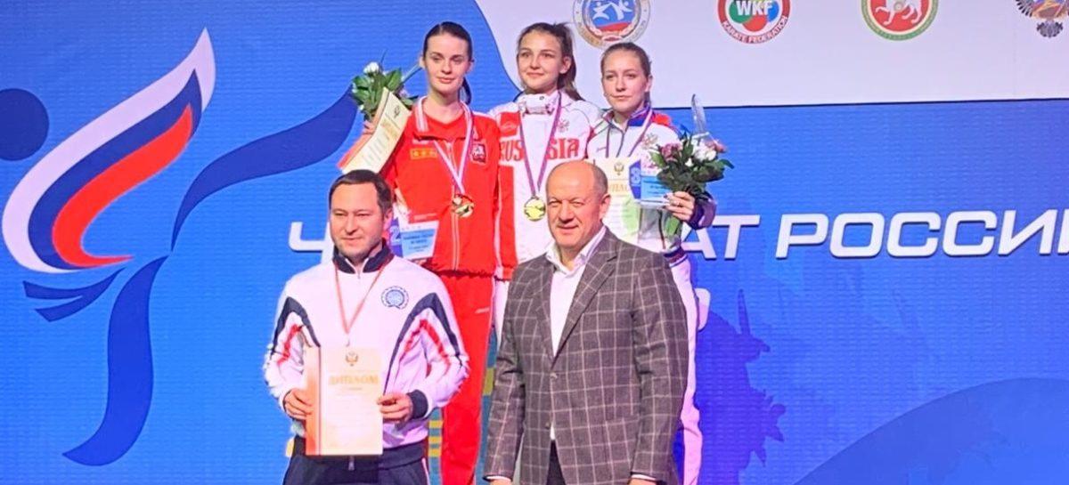 Спортсменка из Сальска Татьяна Рыбальченко поднялась на пьедестал чемпионата России по каратэ WKF