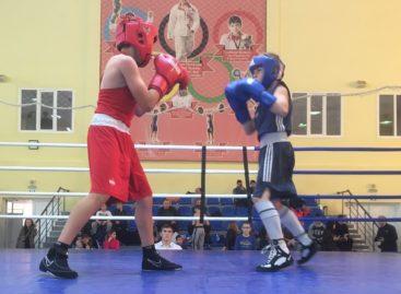 Спортом славят полицию: боксеры из России и Армении сразились на сальском ринге