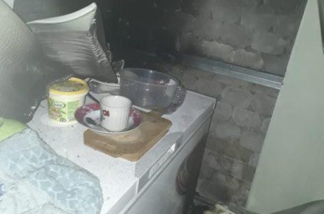 В Кручёной Балке из-за короткого замыкания двигателя морозильной камеры произошёл пожар