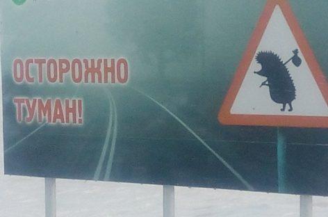 Жители Сальска и Сальского района, будьте особенно осторожны в туман, гололёд и снегопад!
