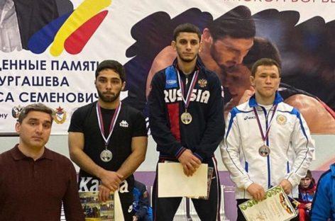 Гигантовский борец победил на Всероссийском турнире в Ростове