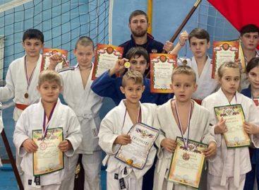 Сальчане завоевали награды на татами в Цимлянске