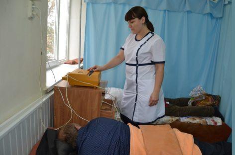 Физиотерапия помогает сальчанам быстрее выздороветь