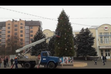 Сальчан услышали и дополнительно украсили новогоднюю ёлку на площади Ленина