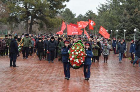 В Сальске отметили 77-ю годовщину освобождения от немецко-фашистских захватчиков