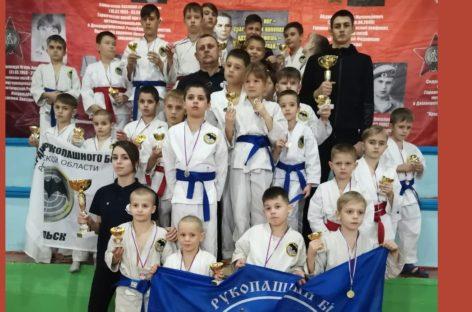 Награды из Орловки: сальские рукопашники завоевали 26 медалей