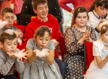 В Гиганте волонтеры организовали для особенных ребят настоящее торжество