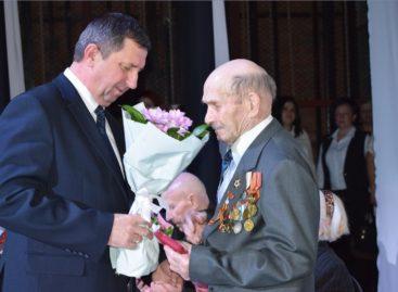 В Сальске прошла церемония вручения медалей в честь 75-летия Победы