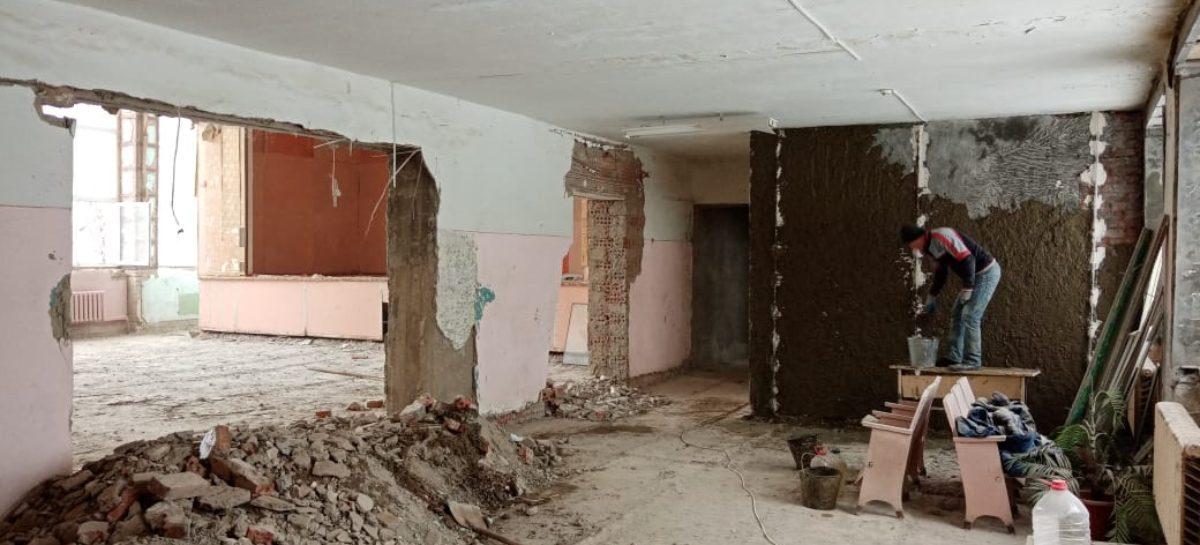 Капитальный ремонт здания Сальского индустриального техникума на Ново-Сальске затягивается