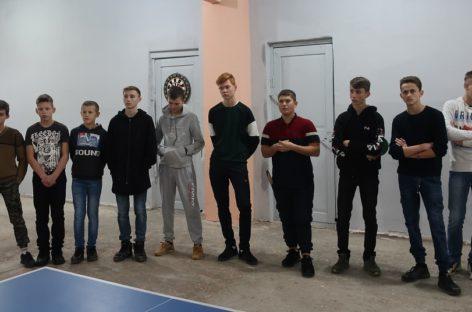 В селе Ивановка открылся общественный спортзал