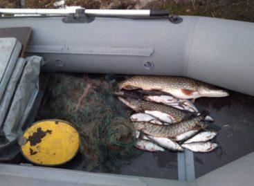 Транспортные полицейские пресекли незаконный вылов биоресурсов на реке Маныч