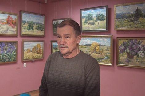 «Мои горизонты»: в художественном музее им. В.К. Нечитайло открылась персональная выставка Виктора Ткаченко
