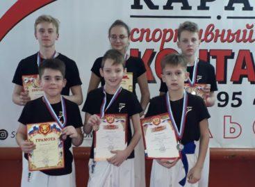 Сальчане выступили на открытом областном турнире по каратэ WKF