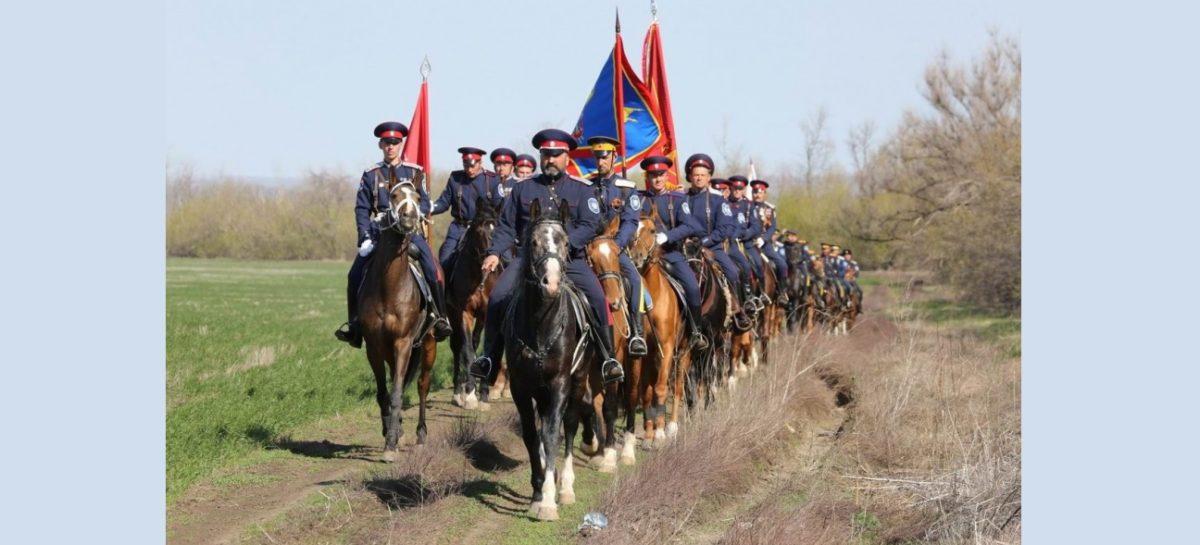 Путь 17-дневного конного перехода на 1000 км пройдет через Сальск