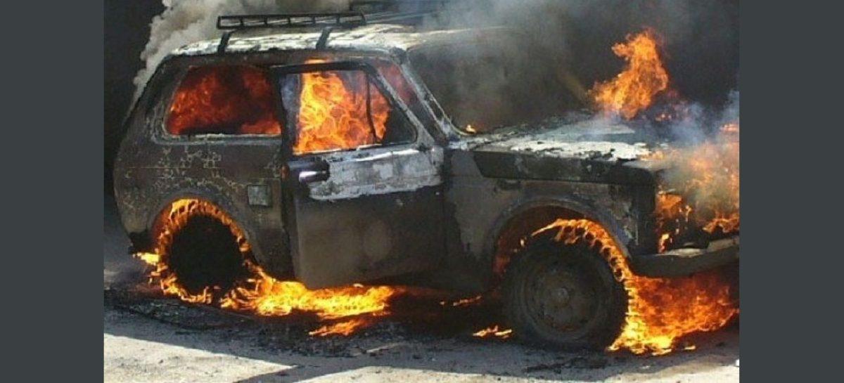 Угонщика «Нивы», который поджёг чужой автомобиль, поместили под стражу