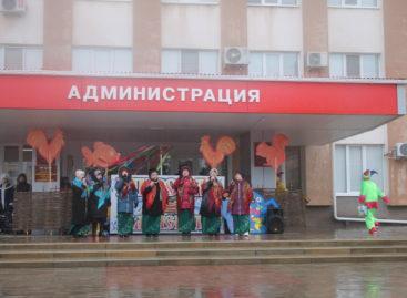 Погода испортила первый день Масленицы в Сальске