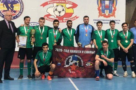 Есть «бронза» областного чемпионата по мини-футболу у сальчан!